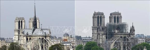 Pháp cảnh báo các chiêu lừa đảo quyên góp phục dựng Nhà thờ Đức Bà Paris - Ảnh 1.