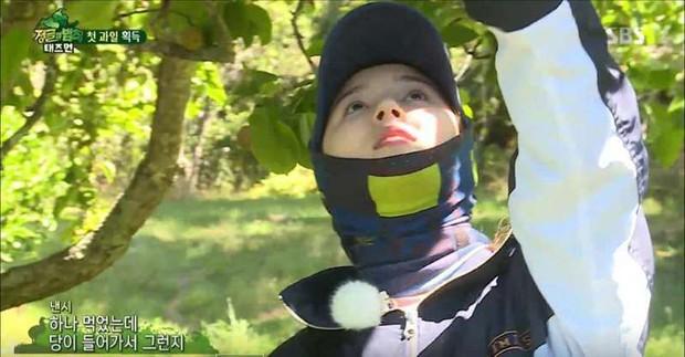 Không hổ danh thiên thần lai, Nancy (MOMOLAND) khoe mặt mộc đẹp xuất sắc khi đi rừng - Ảnh 1.