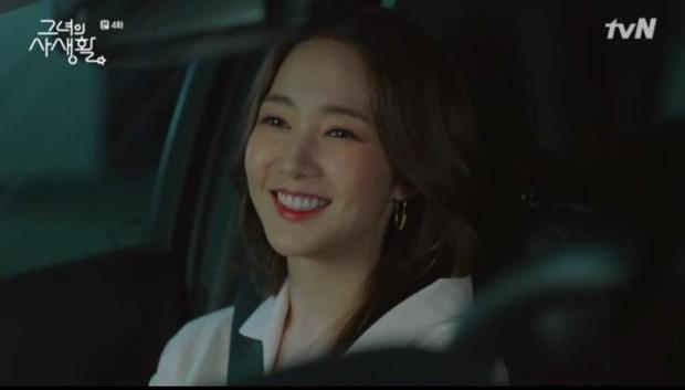 Sướng như Park Min Young, có chủ tịch mặt ngầu đeo tai thỏ làm người tình bình phong trong Her Private Life - Ảnh 13.