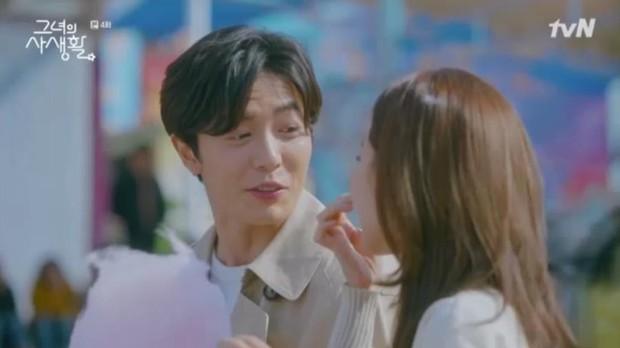 Sướng như Park Min Young, có chủ tịch mặt ngầu đeo tai thỏ làm người tình bình phong trong Her Private Life - Ảnh 4.