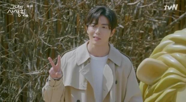 Sướng như Park Min Young, có chủ tịch mặt ngầu đeo tai thỏ làm người tình bình phong trong Her Private Life - Ảnh 9.