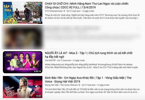 Running Man, Người ấy là ai, Giọng hát Việt... nối nhau trên bảng top trending, thời hoàng kim TV Show đã trở lại? - Ảnh 1.