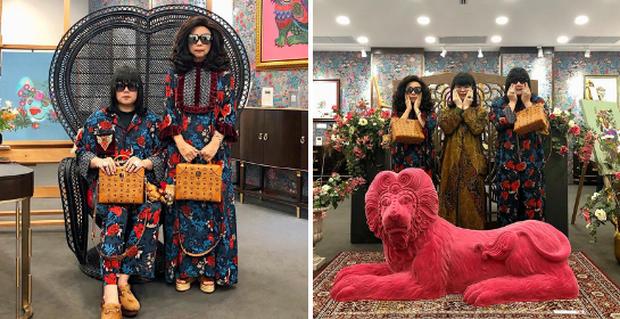 Mẹ và con trai cùng nhau trở thành ngôi sao Instagram vì gu ăn mặc vừa chất vừa siêu hợp rơ - Ảnh 2.