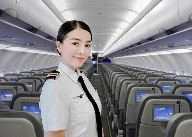 Hoa khôi Diệu Thuý: 23 tuổi rời showbiz vào nhà máy, 26 tuổi dốc cạn tiền tiết kiệm mạo hiểm học làm phi công - Ảnh 1.