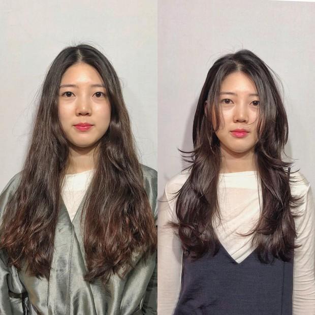 Dù bị không ít người chê, kiểu tóc của Park Min Young vẫn được con gái Hàn thi nhau để theo - Ảnh 6.