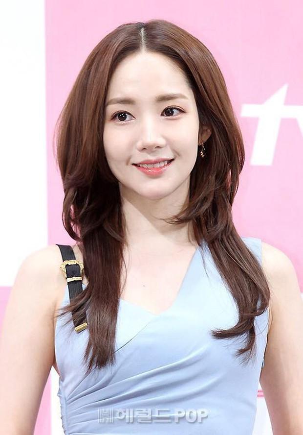 Dù bị không ít người chê, kiểu tóc của Park Min Young vẫn được con gái Hàn thi nhau để theo - Ảnh 4.