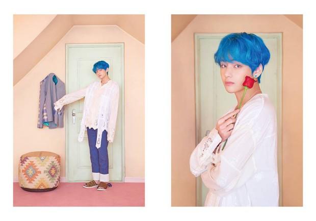 BTS tung thêm ảnh teaser: Một thành viên chơi trội với trang phục già dặn và đôi dép chói hơn mái ngói - Ảnh 2.