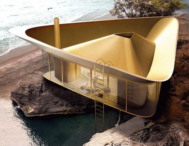 Cần gì phải ra biển tắm khi bạn có thể ngụp lặn ngay trên nóc nhà với ý tưởng thiết kế độc lạ này - Ảnh 1.