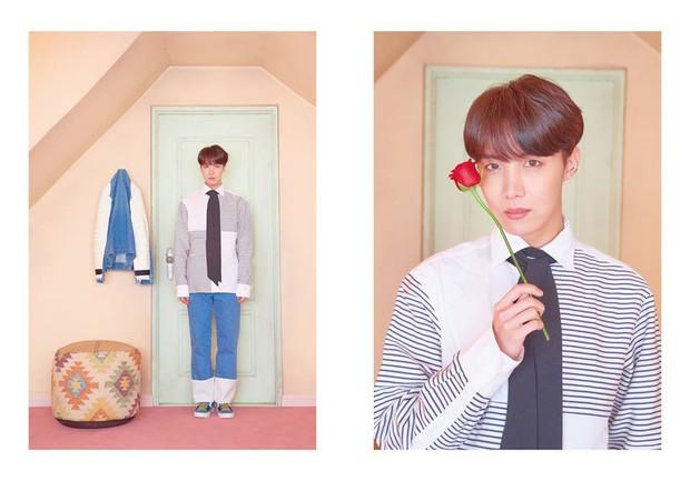 BTS tung thêm ảnh teaser: Một thành viên chơi trội với trang phục già dặn và đôi dép chói hơn mái ngói - Ảnh 7.