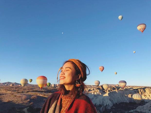 Loạt trải nghiệm cực đã của cô bạn người Việt tại Cappadocia (Thổ Nhĩ Kì): Ngủ trong hang, bay cùng khinh khí cầu, lái xe jeep qua thung lũng - Ảnh 3.