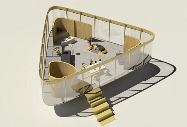 Cần gì phải ra biển tắm khi bạn có thể ngụp lặn ngay trên nóc nhà với ý tưởng thiết kế độc lạ này - Ảnh 6.