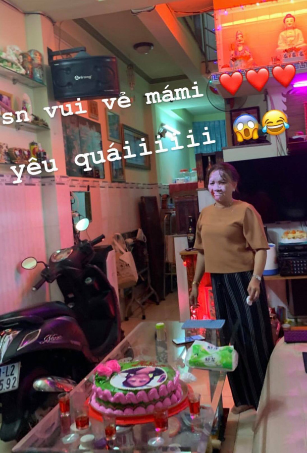 Phương Mỹ Chi tổ chức sinh nhật bất ngờ cho mẹ, hồn nhiên vui đùa mặc những lời chê già dặn so với tuổi - Ảnh 1.