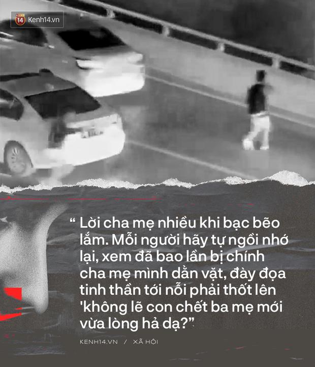 Người trẻ Việt nhìn thấy chính mình vụ nam sinh nhảy cầu tự vẫn trước mặt mẹ: Chúng ta năm ấy đã suýt đi đến bước đường này - Ảnh 4.