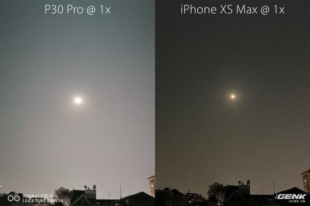 Thử chụp zoom trăng bằng Huawei P30 Pro và so sánh với iPhone XS Max - Ảnh 2.