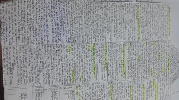 Giáo viên cho mang 1 tờ giấy ghi kiến thức vào phòng thi, ai ngờ sinh viên chép sương sương cũng được cả quyển sách! - Ảnh 2.