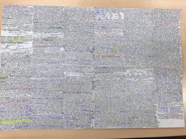 Giáo viên cho mang 1 tờ giấy ghi kiến thức vào phòng thi, ai ngờ sinh viên chép sương sương cũng được cả quyển sách! - Ảnh 5.