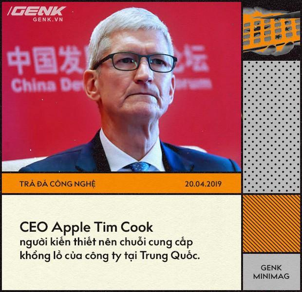 Apple đã trở thành con tin trong tay Trung Quốc như thế nào? - Ảnh 1.