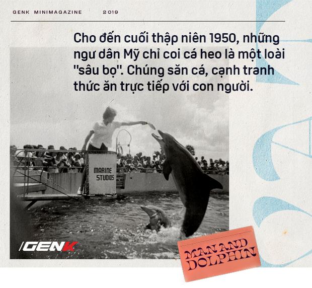Đọc cuối tuần: Năm 1965, một cô gái dạy cá heo nói Tiếng Anh, cuối cùng con cá đã yêu cô ấy điên cuồng - Ảnh 3.