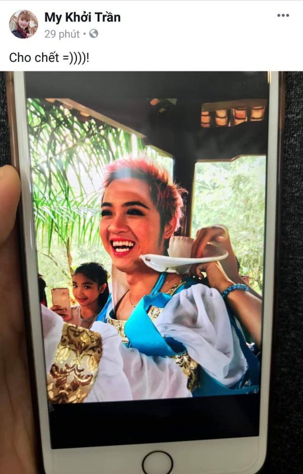Ngày hội bóc phốt: Hội bạn thân Khởi My liên tục đăng ảnh dìm hàng nhau, xem đến Kelvin Khánh thực sự sốc - Ảnh 4.