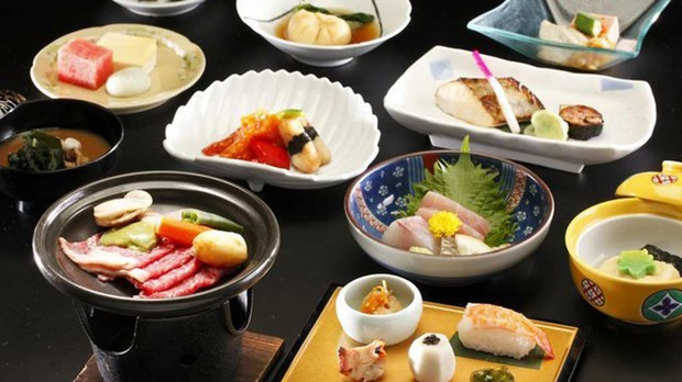 Các món ăn Nhật Bản trông lúc nào cũng nghệ là nhờ làm theo nguyên tắc này - Ảnh 3.
