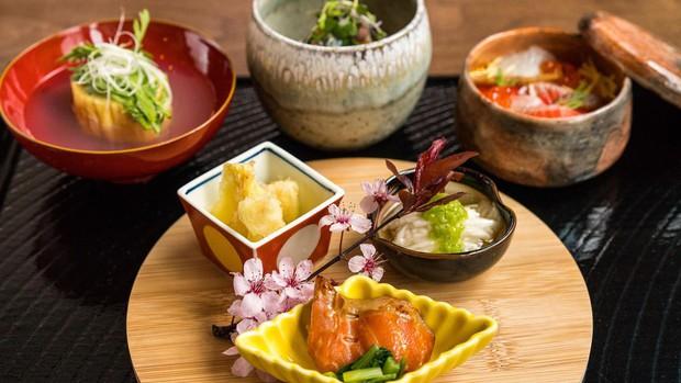 Các món ăn Nhật Bản trông lúc nào cũng nghệ là nhờ làm theo nguyên tắc này - Ảnh 4.