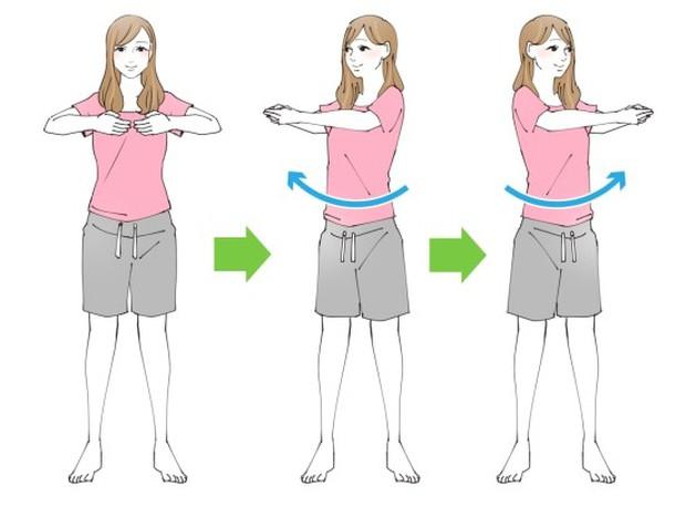 Học con gái Nhật 4 bài tập làm thon nhỏ vòng eo để tự tin chọn đồ trong mùa hè - Ảnh 1.