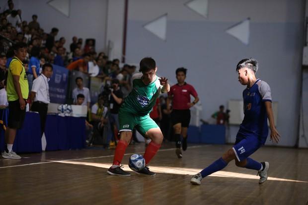 Đánh bại cựu vương, đại học Tôn Đức Thắng lần đầu vô địch VUG Futsal - Ảnh 1.