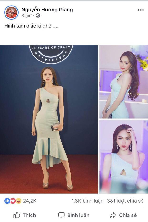 HH Hương Giang xuất hiện xinh đẹp tựa nữ thần nhưng bộ đầm hiểm hóc mới là tâm điểm, đến khổ chủ cũng phải lên tiếng - Ảnh 4.