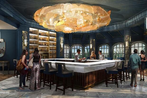 Disney World chuẩn bị khai trương nhà hàng mô phỏng lâu đài tráng lệ của Beauty and The Beast bản live action - Ảnh 1.