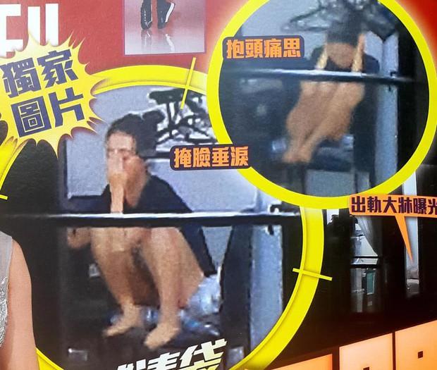 Á hậu lẳng lơ nhất Hong Kong Huỳnh Tâm Dĩnh sau scandal: Trốn biệt trong nhà, khóc lóc suy sụp tinh thần - Ảnh 4.