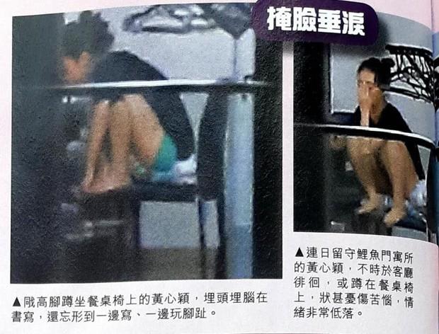 Á hậu lẳng lơ nhất Hong Kong Huỳnh Tâm Dĩnh sau scandal: Trốn biệt trong nhà, khóc lóc suy sụp tinh thần - Ảnh 5.