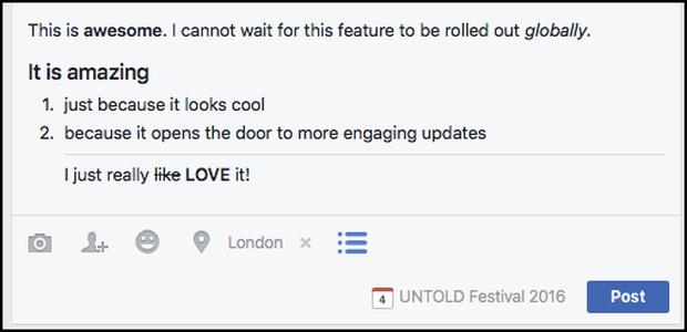 Làm sao để viết status Facebook chữ đậm, nghiêng, quote... trông thật ngầu và pro? - Ảnh 1.