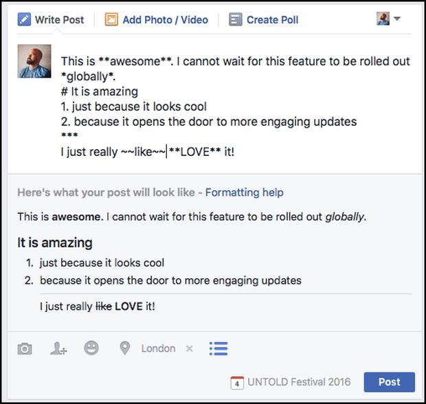Làm sao để viết status Facebook chữ đậm, nghiêng, quote... trông thật ngầu và pro? - Ảnh 3.