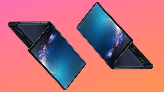 Smartphone màn hình gập giá rẻ của Huawei lộ ảnh thực tế, giống Mate X nhưng viền dày hơn - Ảnh 1.