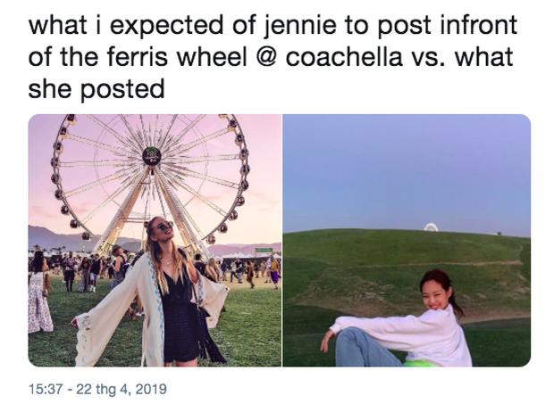 Nếu được một lần check-in tại Coachella, bạn tuyệt đối đừng chụp ảnh gây suy nhược như Jennie (BLACKPINK) nhé! - Ảnh 4.