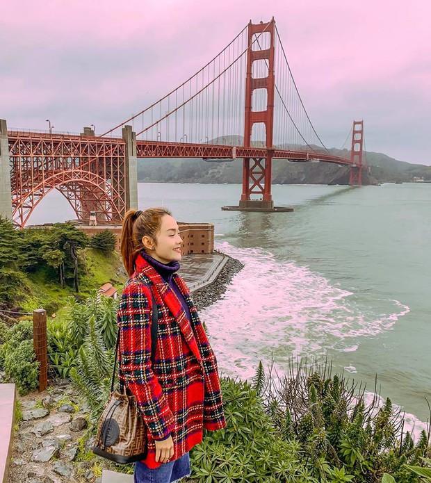 Nhìn loạt ảnh du lịch như ở thế giới khác của Minh Hằng, ai cũng phải thốt lên: Cô gái vàng của làng ghép mây trời đây rồi!  - Ảnh 4.