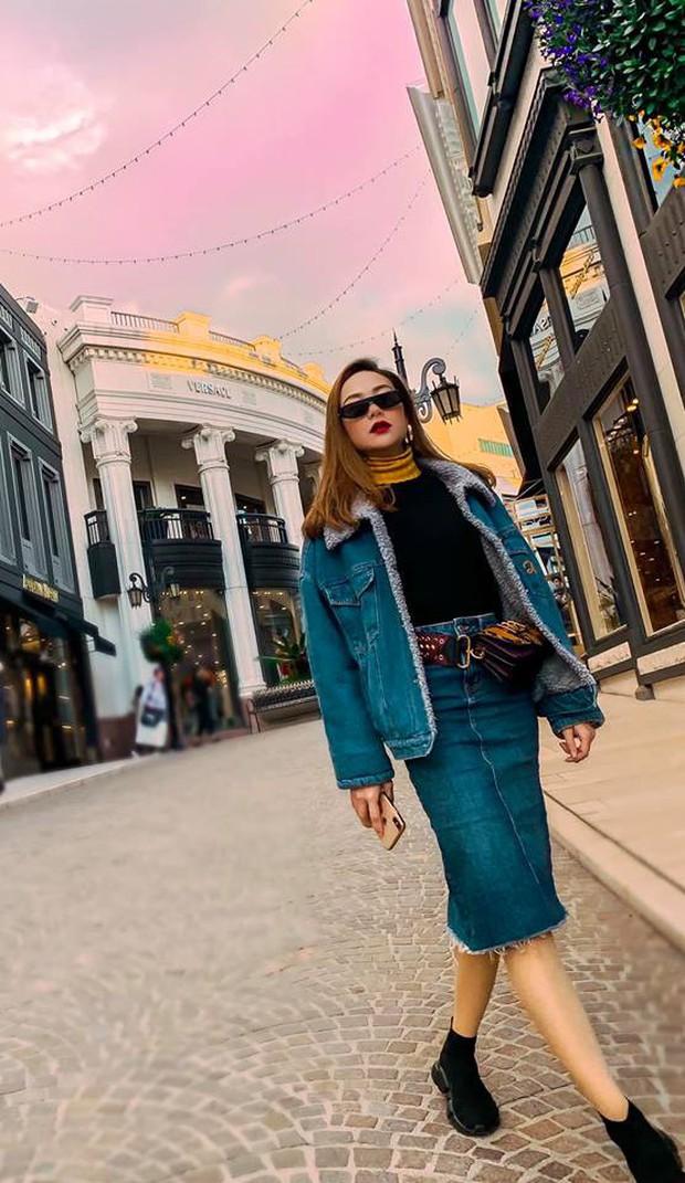 Nhìn loạt ảnh du lịch như ở thế giới khác của Minh Hằng, ai cũng phải thốt lên: Cô gái vàng của làng ghép mây trời đây rồi!  - Ảnh 9.