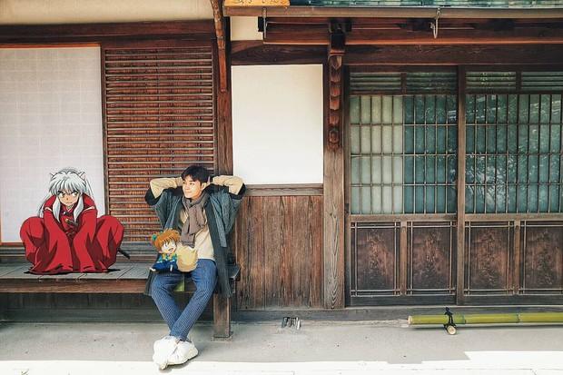 Quay về tuổi thơ với loạt ảnh check-in đúng chuẩn thế giới truyện tranh của Jun Phạm tại Nhật Bản - Ảnh 6.
