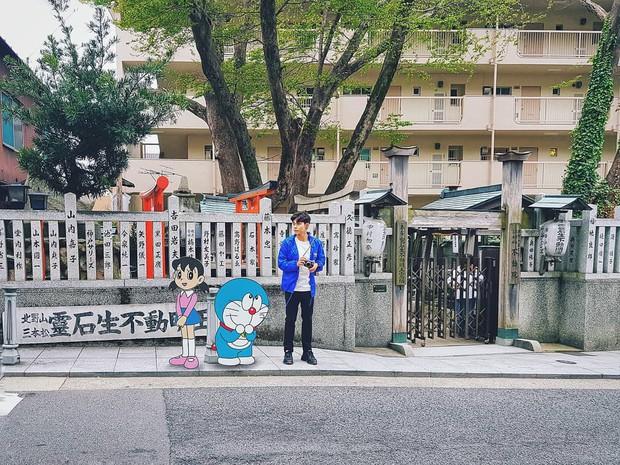 Quay về tuổi thơ với loạt ảnh check-in đúng chuẩn thế giới truyện tranh của Jun Phạm tại Nhật Bản - Ảnh 7.