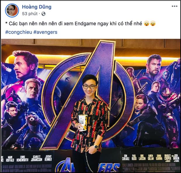 """Xem xong """"Endgame"""", sao Việt khen nức nở và đồng lòng kiềm chế spoil nội dung phim - Ảnh 6."""