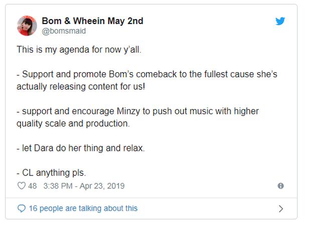 Fan chưa kịp mừng vì tin đồn 2NE1 tái hợp thì Dara đã dập tắt hy vọng thế này rồi! - Ảnh 5.