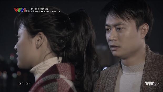 Mong manh như chị Huệ (Về Nhà Đi Con): Đi ship hàng gặp bồ cũ ngỡ ngàng đánh rơi gói pate - Ảnh 7.
