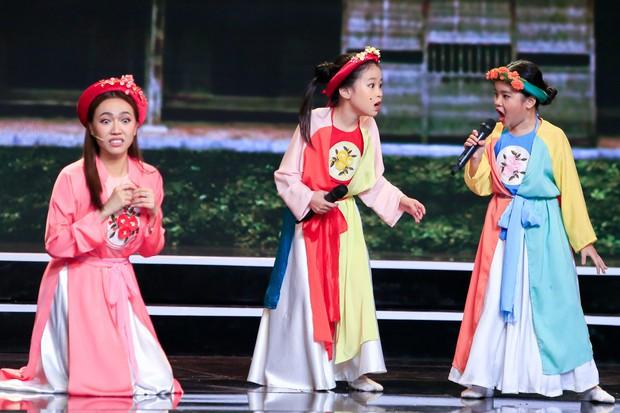 Tuyệt đỉnh song ca nhí: Diệu Nhi bị học trò mắng té tát trên sân khấu - Ảnh 2.