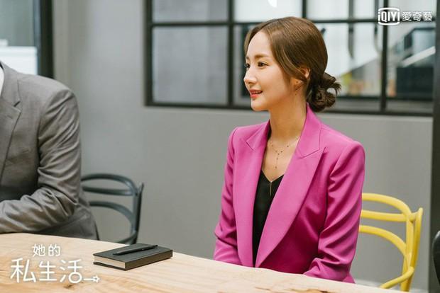 Học ngay nàng Park Min Young cách buộc tóc siêu mát, giúp tránh tối đa tình trạng mụn lưng hè này - Ảnh 2.