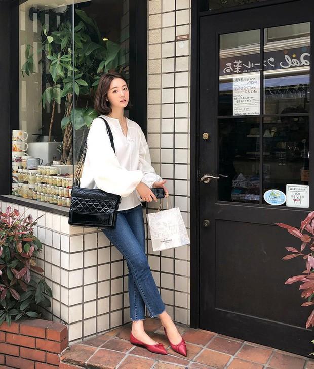 Tiện một công ngắm 15 set đồ từ street style Châu Á, các nàng lên luôn được danh sách các món cần sắm hè này - Ảnh 14.
