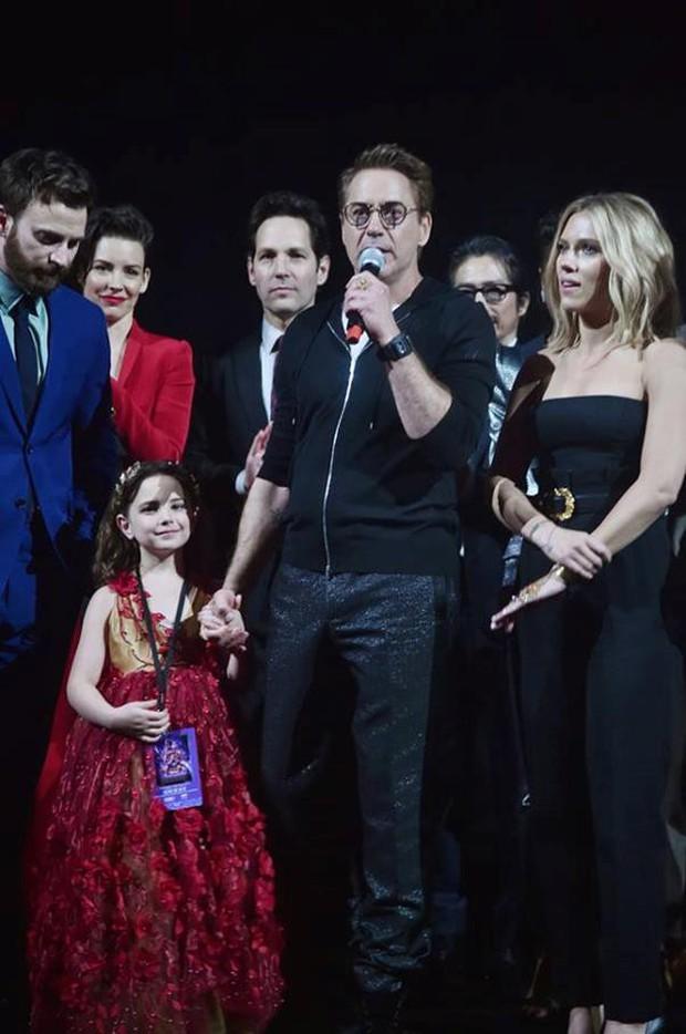 Giả thuyết đáng ngờ về nhân vật bí ẩn xuất hiện bên cạnh Iron Man ở buổi công chiếu Endgame Mỹ - Ảnh 4.