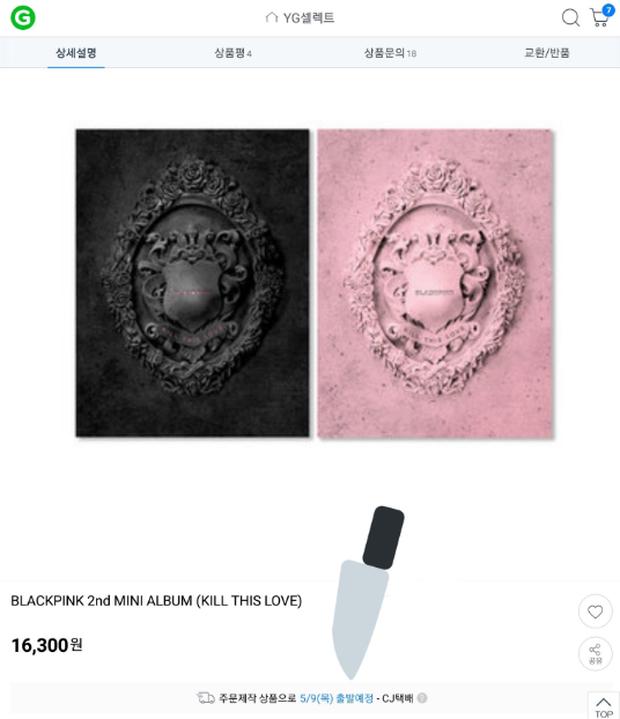 Đang bán chạy như tôm tươi, album của BlackPink bỗng... hết hàng khiến fan kêu trời: Muốn phá kỷ lục mà YG không cho! - Ảnh 6.