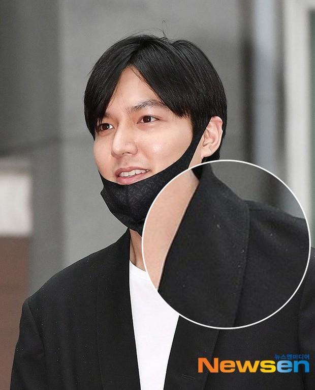 Xa showbiz đã lâu Lee Min Ho chẳng còn thiết tha chải chuốt đến mức mặt béo, gàu thì rơi lả tả xuống áo thế này? - Ảnh 3.