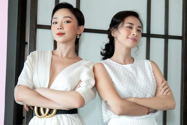 Hà Tăng diện sắc trắng nền nã, rạng rỡ hội ngộ Ngô Thanh Vân, Đông Nhi cùng dàn mỹ nhân Vbiz - Ảnh 6.