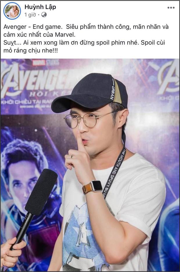 """Xem xong """"Endgame"""", sao Việt khen nức nở và đồng lòng kiềm chế spoil nội dung phim - Ảnh 11."""